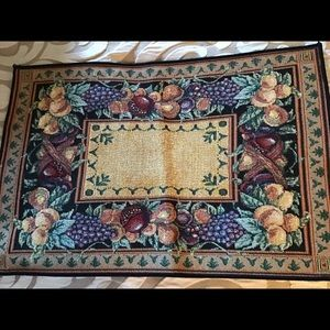 Old World Italy placemats and runner